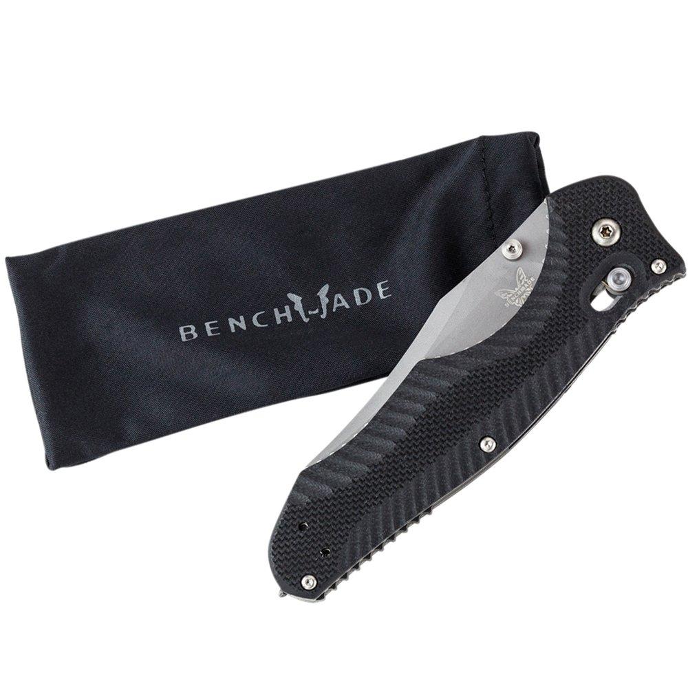 Benchmade - Contego 810 Knife, Plain Reverse Tanto, Satin Finish by Benchmade (Image #9)