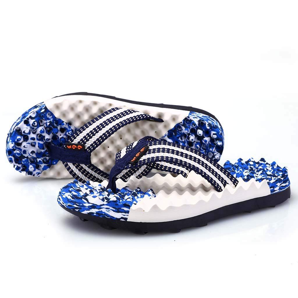 Colmkley Mens Boys Flip Flops Sandals Leisure Massage Walking Shoes