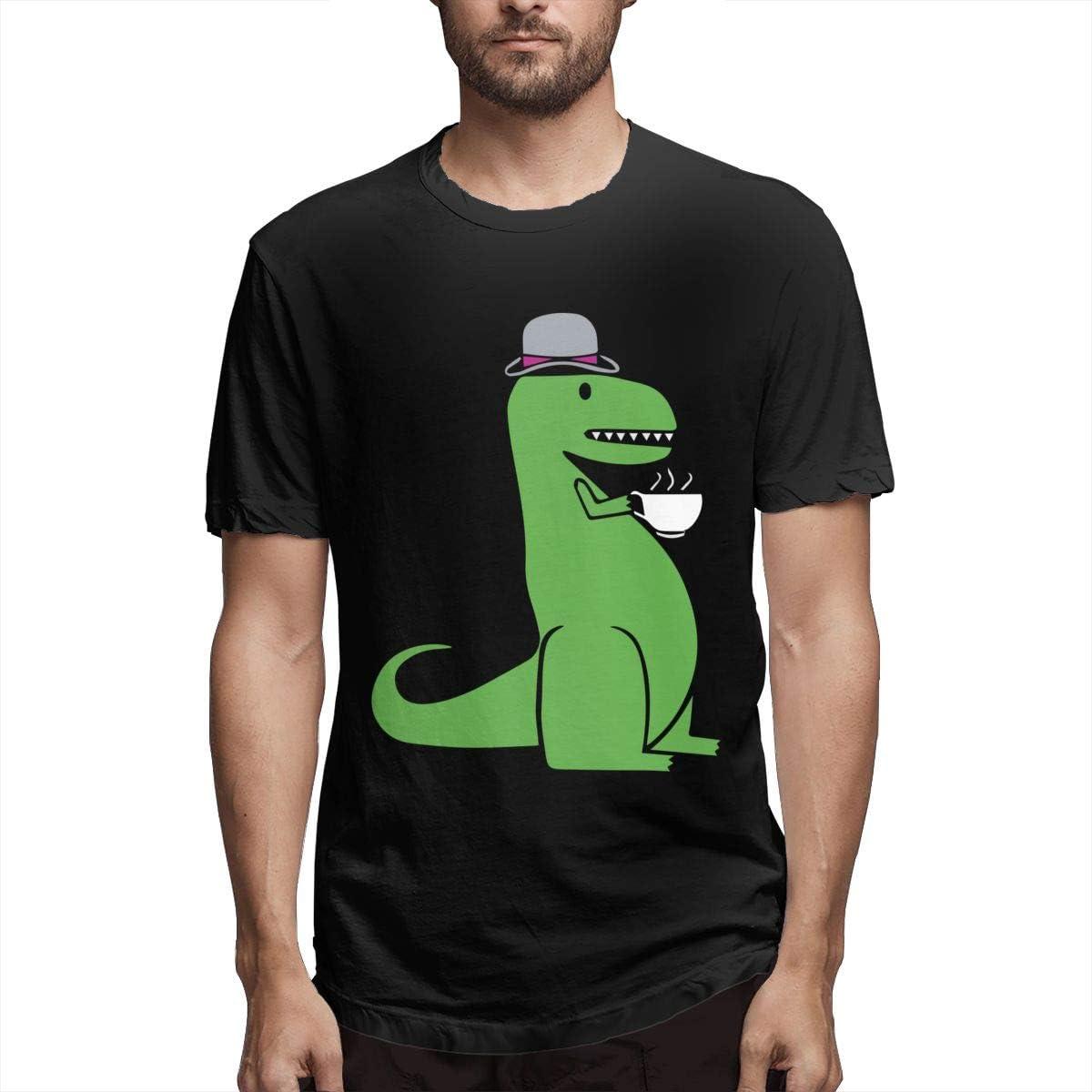 Barbara J Griffin Tea Rex - Camiseta de manga corta para ...