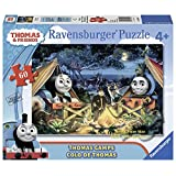 Ravensburger -Thomas & Friends - Thomas Camps(60 pc Glow-in-the-Dark Giant Floor Puzzle)
