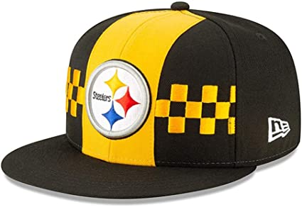 New Era NFL PITTSBURGH STEELERS Authentic 2019 Sideline 9FIFTY Snapback Road Game Cap