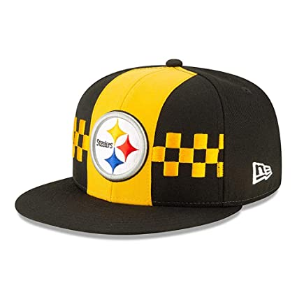 online store ccf61 63989 New Era Pittsburgh Steelers 2019 NFL Draft Official On-Stage 59FIFTY Fitted  Hat - Black