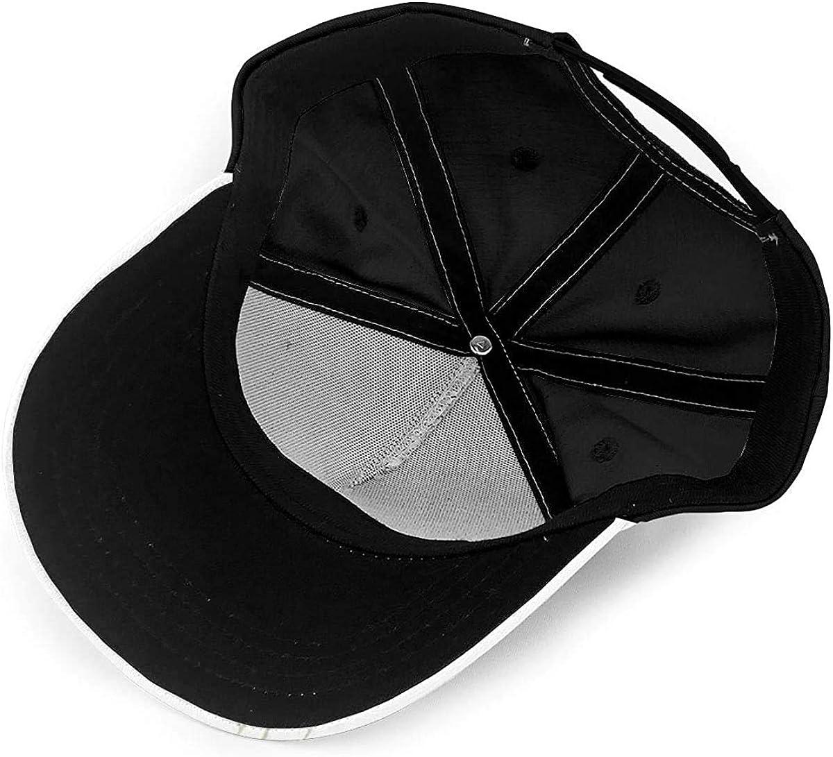 Art Draw Hummingbirds Arround The Flower Lightweight Unisex Baseball Caps Adjustable Breathable Sun Hat for Sport Outdoor Black