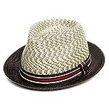 Dasmarca Summer Foldable Packable Multicoloured Trilby Hat - Adrian Sahara XL