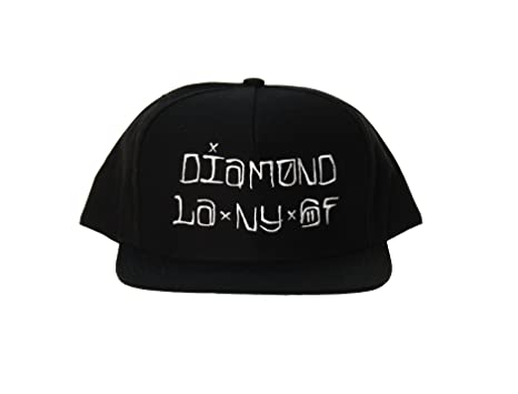 8577ed35fe0c75 Diamond Supply Co Men's Diamond LA NY SF Snapback Hat: Amazon.ca: Sports &  Outdoors