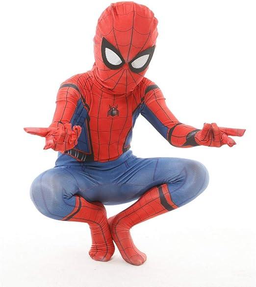BLOIBFS Carnaval Spiderman Disfraz Infantil,Superhéroe Halloween ...