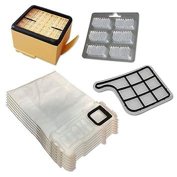12 Duft 10 Staubbeutel Tüten Vlies 2 Filter geeignet Vorwerk Kobold 140 150