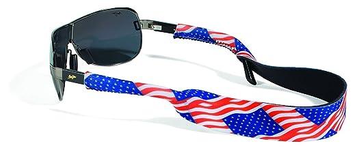 717c0740504 Amazon.com  Croakies Original Neoprene Eyewear Retainer Sunglass Strap Band