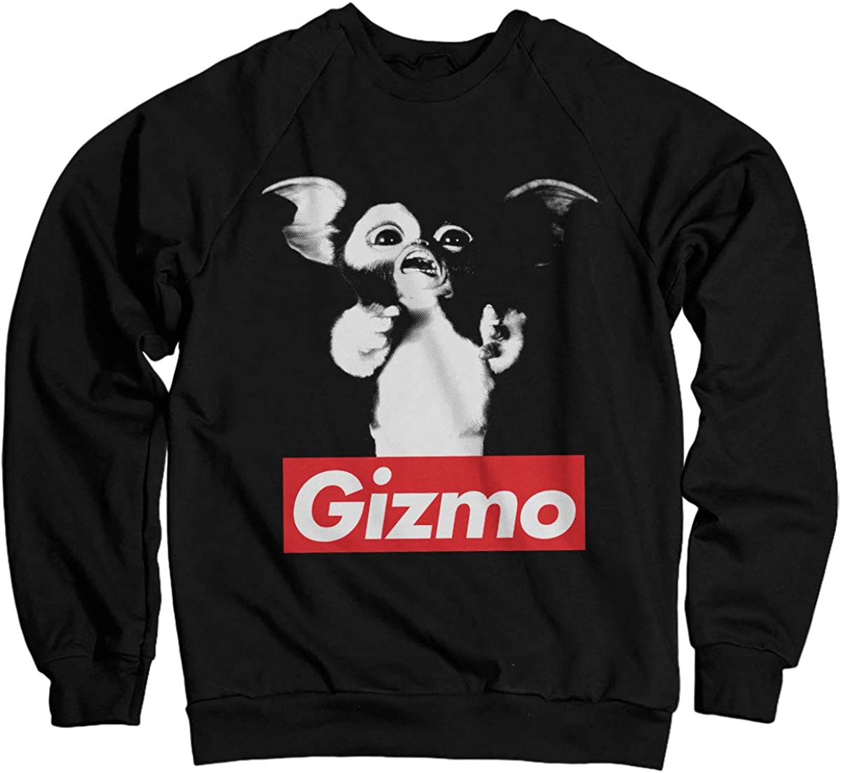 Gremlins Officially Licensed Gizmo Sweatshirt (Black)