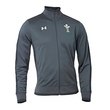 00f64becd331d Pays de Galles WRU 2017 19 - Veste de Rugby Track - Anthracite - Taille