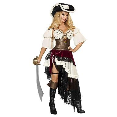 Sexy female pirate costume