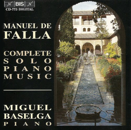 Falla: Complete Solo Piano Music