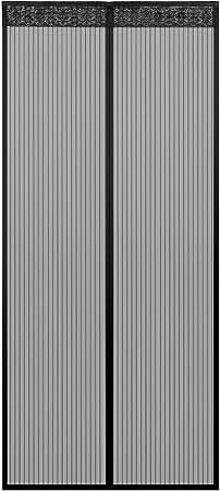 Der Magnetvorhang ist Ideal f/ür die Balkont/ür Kinderleichte Klebemontage Ohne Bohren SUNJUN Fliegengitter T/ür Insektenschutz 80x200cm Braun Kellert/ür Und Terrassent/ür