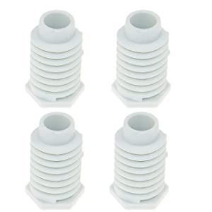 49621 AP4295805 Dryer Leveling Leg Foot Feet for Whirlpool Kenmore Maytag Amana PS1609293-(4 Pack)