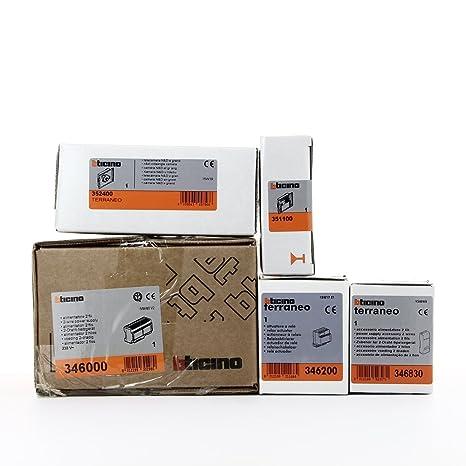 360000 - lt terraneo (Bticino) & & & Kit Base D Sistema - cámara N ...