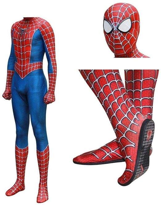 Disfraz De Raimi Spiderman Kostuum Impresión 3D Traje De Cosplay ...