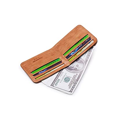 6a28114acc50 Amazon.com: Kalmar RFID Travel Wallet Stealth Mode Men's Leather ...