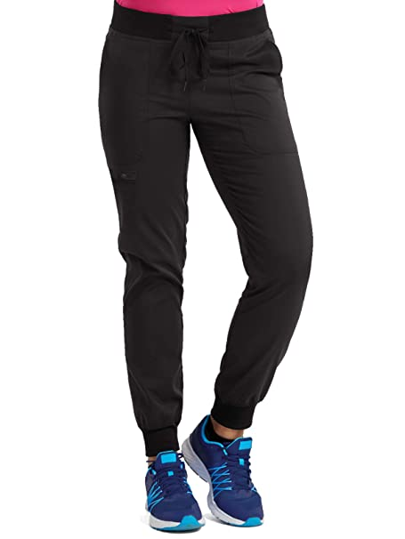92cba333eb Med Couture Touch Women's Jogger Yoga Scrub Pant: Amazon.ca: Clothing &  Accessories