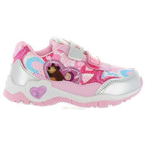 Zapatillas Deporte de Niña Disney S17700G 032 Rosa: Amazon.es: Zapatos y complementos