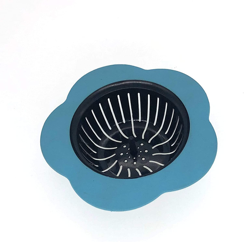 sink drain stopper Sink Stopper for Garbage Disposals,Kitchen Sink Stopper,Universal Drain Stopper,Stainless Steel Sink Plug,Garbage Disposal Splash Guard,Large Wide Rim 3 3//8 Inch Diameter,