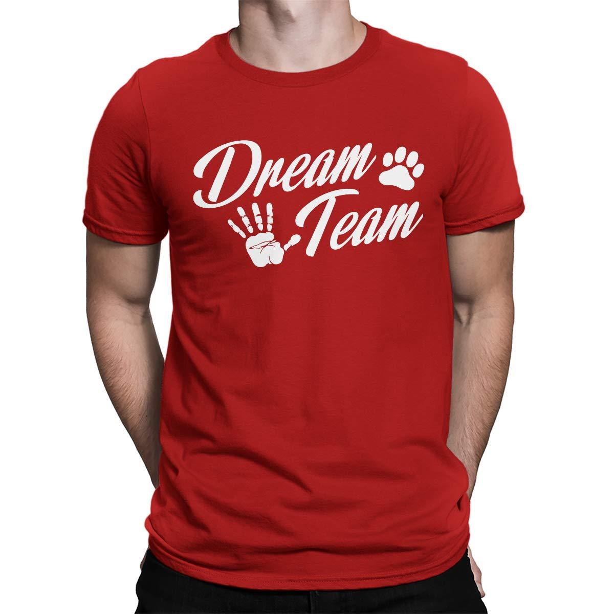 Apparel Dream Team Dog Paw S T Shirt