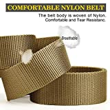 2 Pack Tactical Belt,Military Quick Release