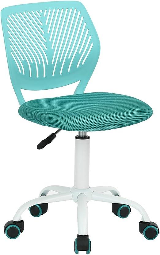 sillas escritorio verde agua