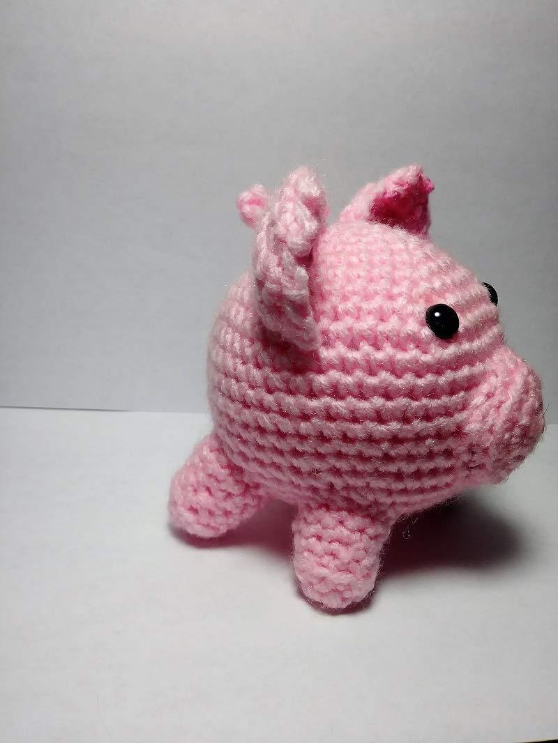 CROCHET PATTERN Amigurumi Pig Crochet Pig Pattern Pig | Etsy | 1066x800