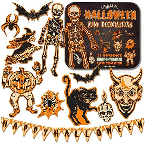 Halloween Mini Decorations (Holiday Cubicle Decorations)