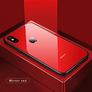 best loved f8d27 2ab5e Inbase Red Back Cover Case for Apple iPhone X