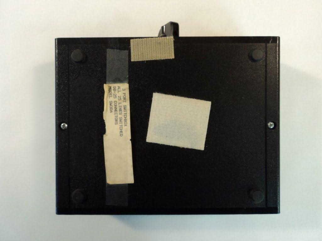 Electro Products 3 Port DB-25 Switchbox Manual Black SW3DA
