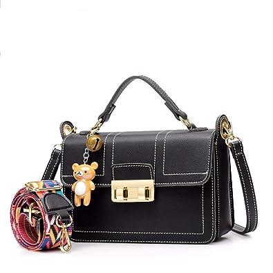 5ff50c3a3b Women Handbags Fashion Handbags For Women Simple PU Leather Shoulder Bags  Messenger Tote Bags black For