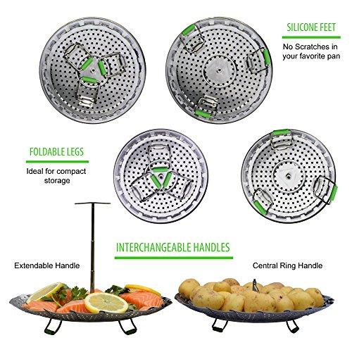 UNIQUE - Pressure Cooker 6 Qt & 8 100% BONUS + | Instapot Rack