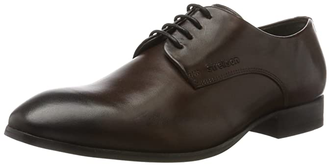 Mens Stretford New Harley Derby LFU 1 Derby Brown Size: 7.5 UK Strellson jzGBiqb