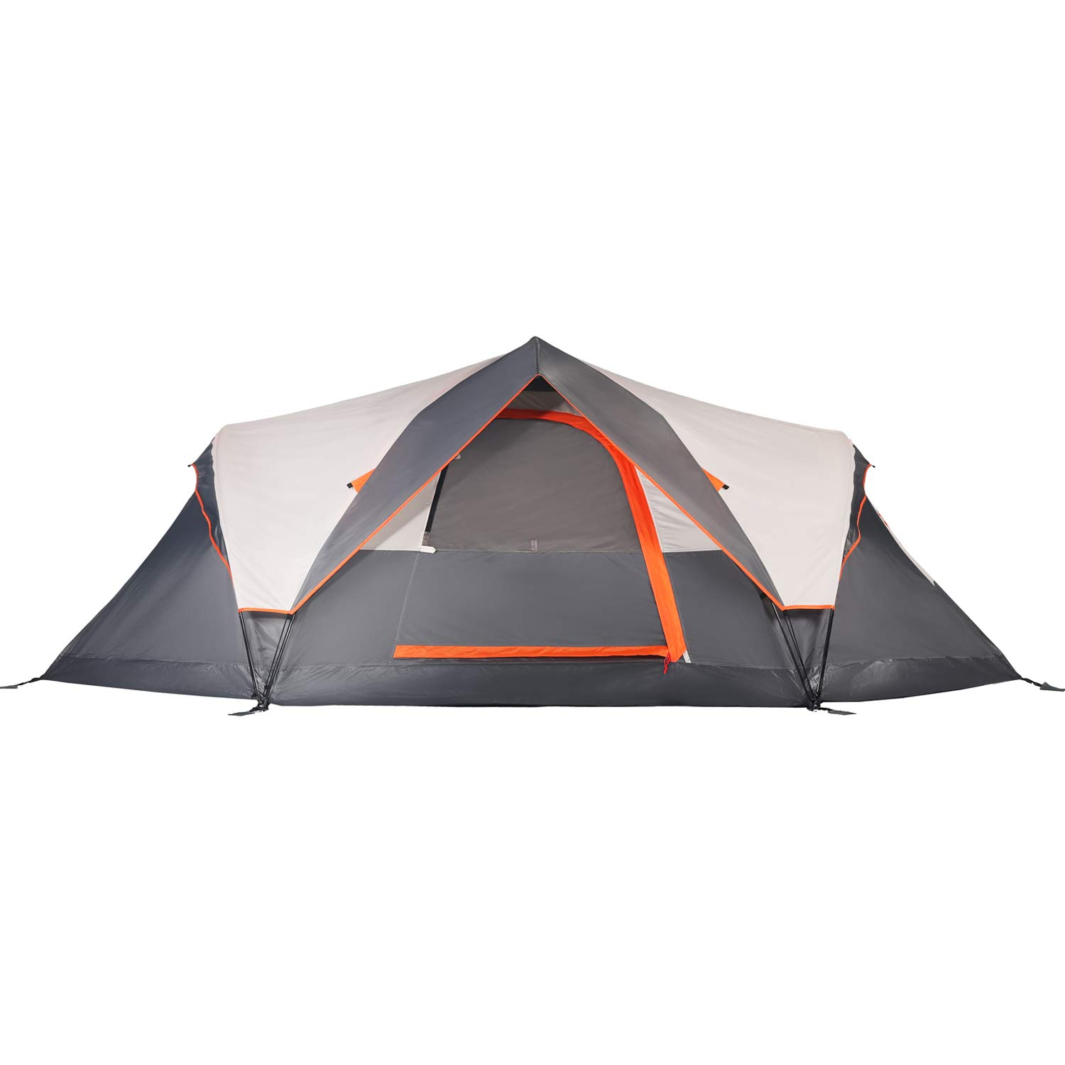 Mobihome 6-Person Tent Family Camping Quick Setup, Instant Extended Dome Tents Outdoor, with Water-Resistant Rainfly and Mesh Roofs & Door & Windows - 13.5' x 7' by Mobihome