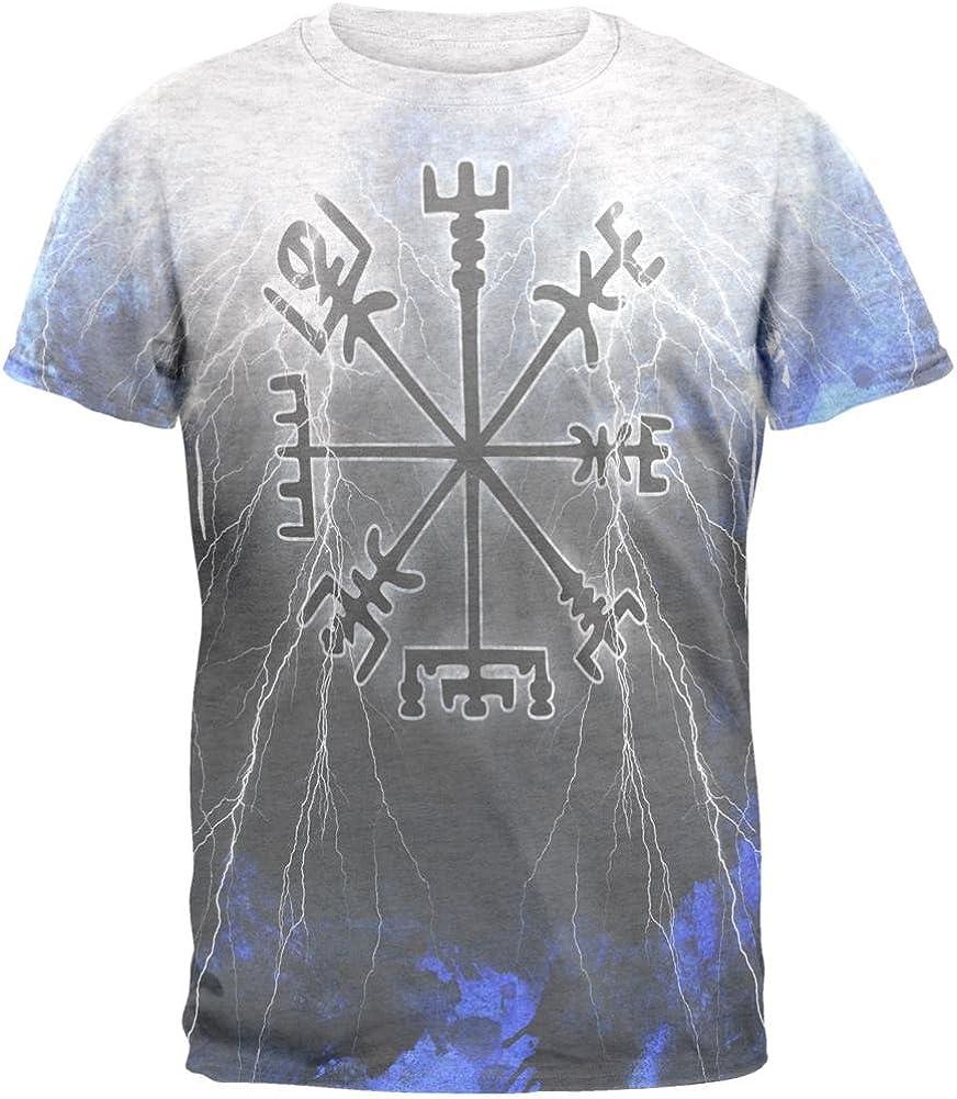Vegvisir Nordic Vikingo tormenta brújula Heather de Camisa de Hombre T Blanco X-LG: Amazon.es: Ropa y accesorios