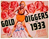 Gold Diggers of 1933 Poster Movie 11x14 Joan Blondell Ruby Keeler Aline MacMahon Dick Powell