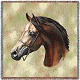 Pure Country Inc. Arabian Horse Small Blanket Tapestry Throw