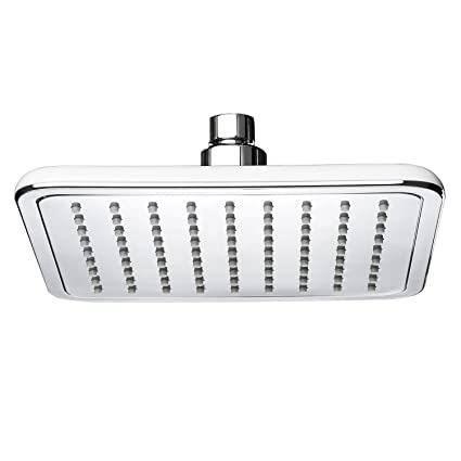Merveilleux AKDY Bath 8u0026quot; Square Modern Chrome Finish Rainfall Style Rubber Nozzles  Shower Head