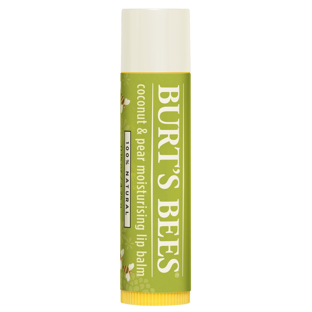 Burt's Bees 100 Percent Natural All-Weather SPF15 Moisturising Lip Balm, 4.25 g Burt' s Bees 90011-14
