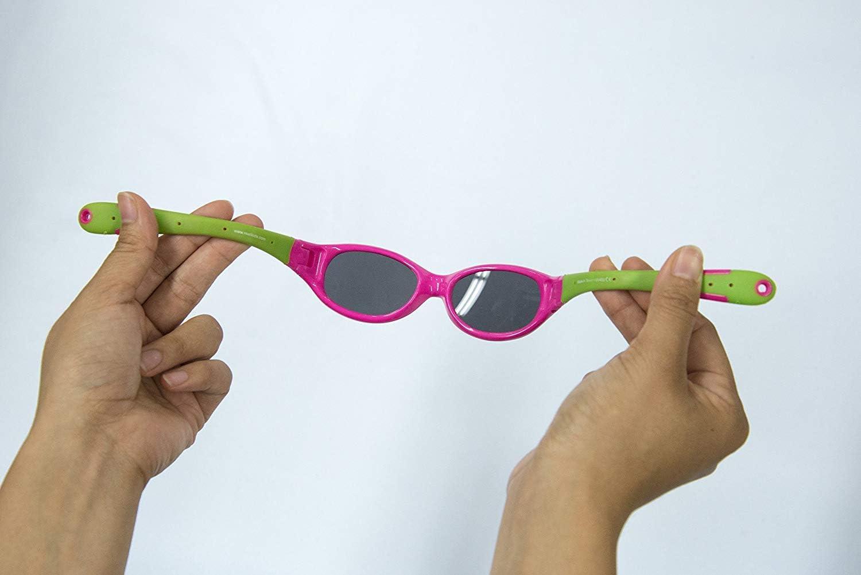 flessibili misura 0-2 anni Occhiali da sole da bambino Real Kids 0EXPRYGR Explorer colore: blu oltremare//verde