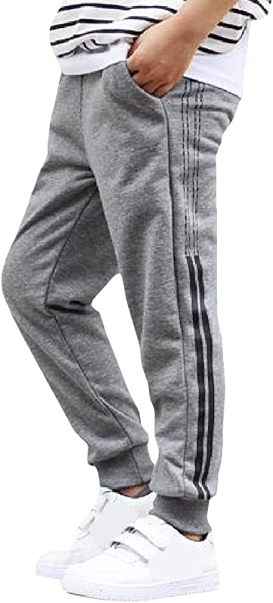 Joe Wenko Big Boys Pants Denim Athletic Solid Color Splice Jogger Jeas