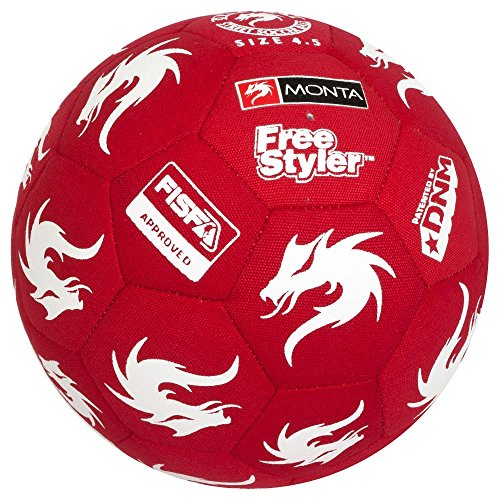 Select Monta Freestyle Soccer Ball (Red) (Best Freestyle Soccer Ball)