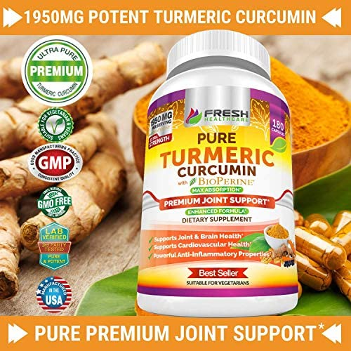 Apple Cider Vinegar and Turmeric Curcumin - Bundle 4