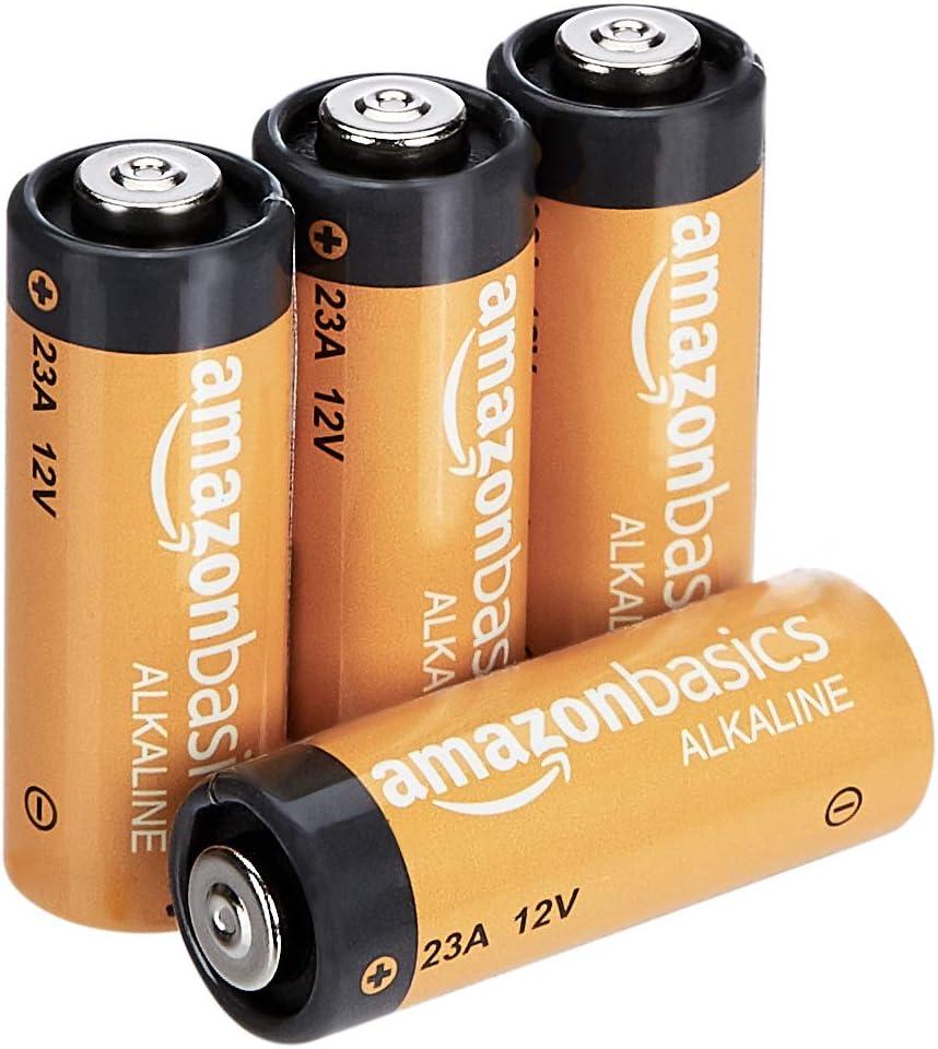 AmazonBasics - Pilas alcalinas A23 (Paquete de 4)