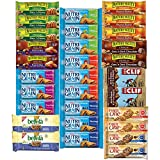 Healthy Snacks, Variety Pack, Breakfast Bars, Including Nature Valley, Belvita, Clif, Nutri Grain and Fiber One