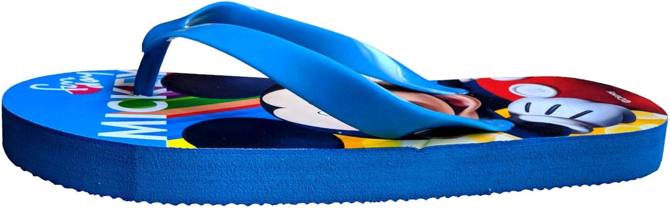 Mickey Tongs Gar/çons Rouges Lanieres Bleues