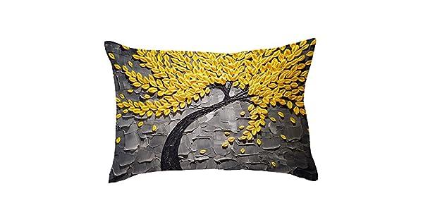 Amazon.com: Uscharm Funda de almohada rectangular, funda de ...
