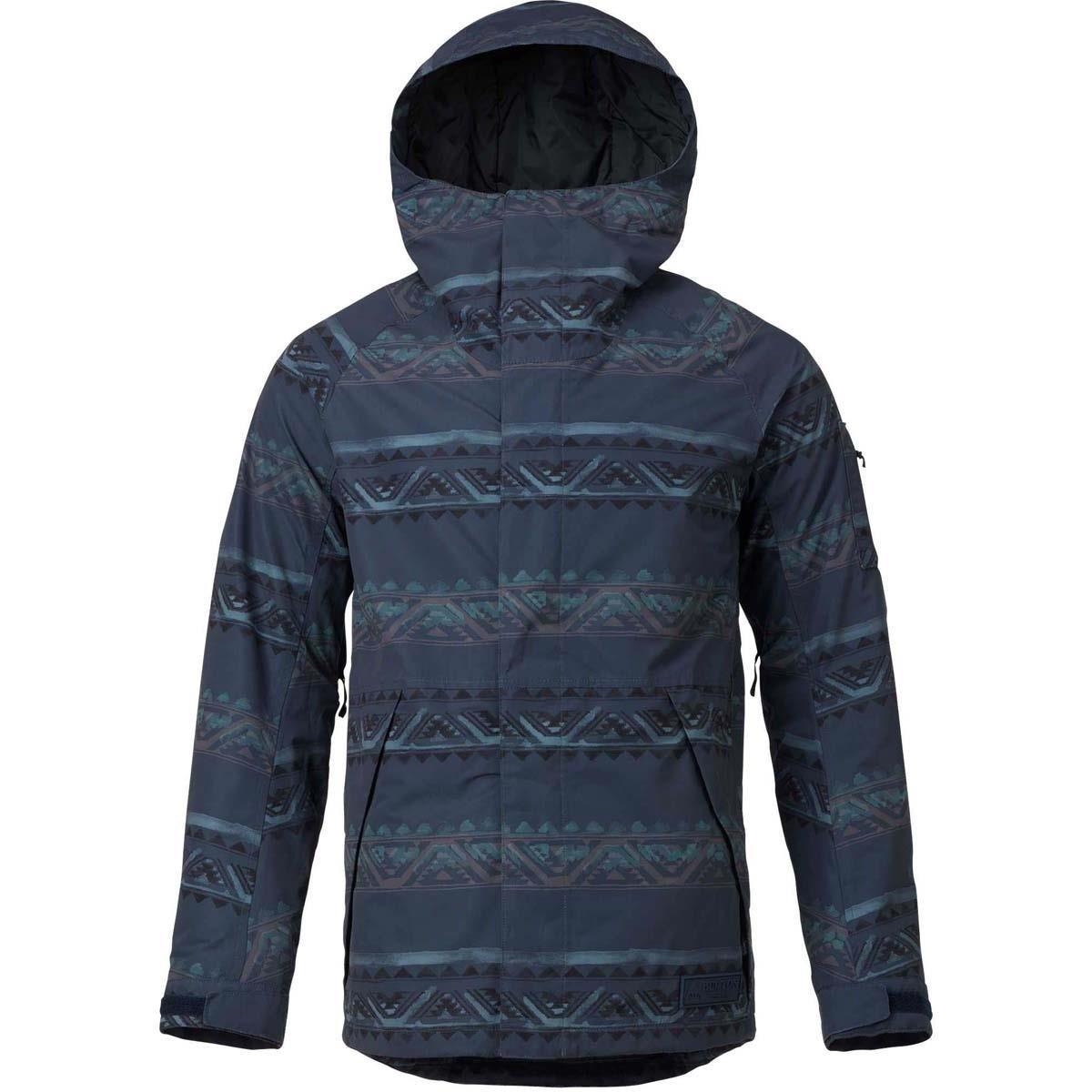 Burton Men's Hilltop Jacket Mood Indigo Chimayo Medium