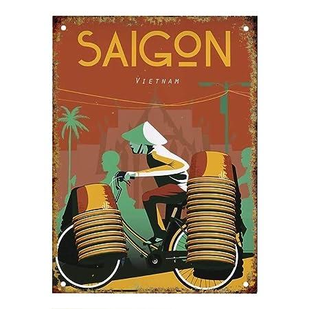 KODY HYDE Póster De Pared Metal - Saigon - Cartel De Chapa Vintage ...